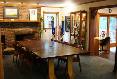 This gallery features trophy cases of the various outdoor recreation clubs to convey each club's history.  Clubs have been a large part of Mount Hood since the Mazamas were formed in 1894.