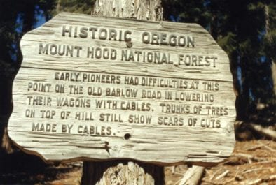 This gallery features the history of the Mt. Hood National Forest and the people who manage the Forest, the US Forest Service.