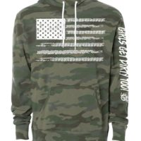 ORV #CAMO HOODIE FRONT VIEW