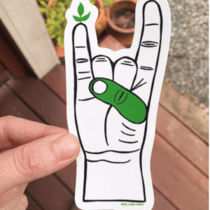 Green Thumb Sticker