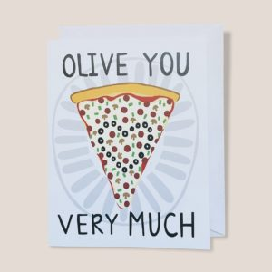 Greeting Card  - Olive You
