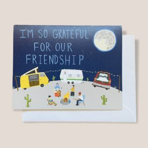 Greeting Card  - I'm so grateful for our friendship