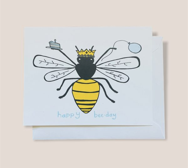 Greeting Card  - Bee Day
