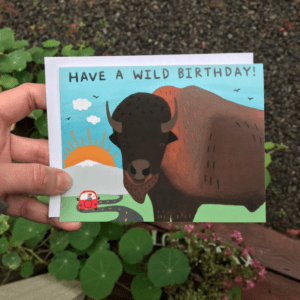 Greeting Card  - Have a wild birthday