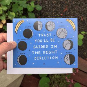 Greeting Card  - Trust you'll be guided