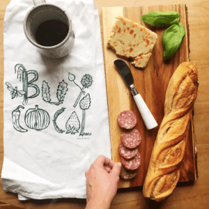 Buy Local Kitchen Tea Towel