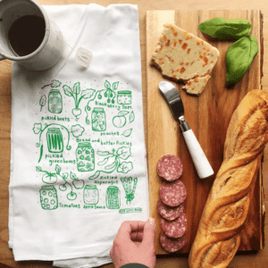 Canning Kitchen Tea Towel