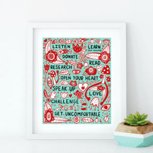 Call To Action Art Print