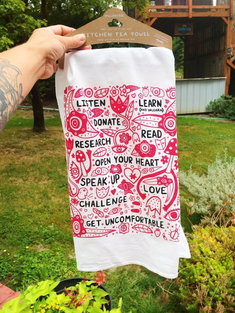 Call To Action - Kitchen Tea Towel
