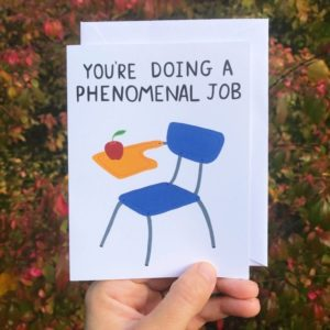 Greeting Card - You're Doing A Phenomenal Job