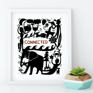 Connected - Art Print