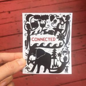 Connected - Sticker