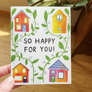 Greeting Card - So happy for you!