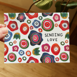 Greeting Card - Sending Love