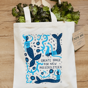 Create Space For New Possibilities - Tote Bag