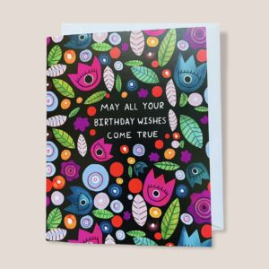 Greeting Card - May All Your Birthday Wishes Come True