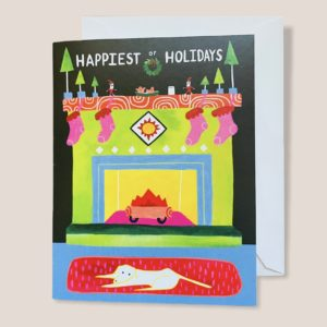 Greeting Card - Happiest Of Holidays