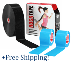 Equine RockTape Kit: 3 Rolls, FREE Shipping (RT-PRO-kit)