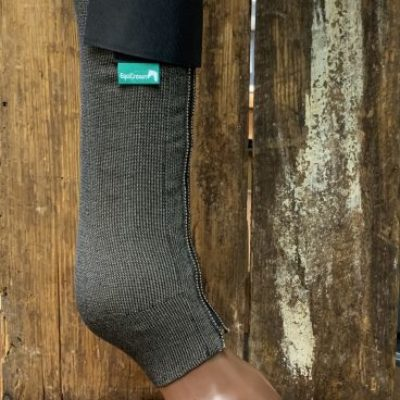 Equicrown SILVER FITS Compression Leg Wrap (LW-AC/FITS-S)