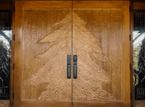 Wonser Woods Carved wooden doors
