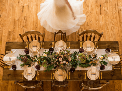 Dining Table Girl Twirl