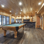 Timber Room Pool Table